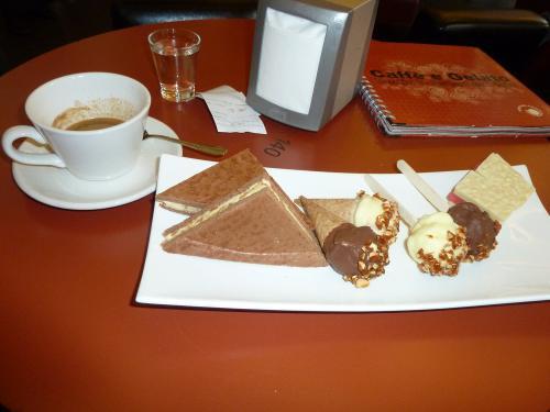 Sushi Eis im Caffe e Galato / Berlin